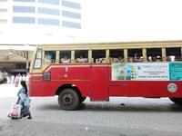 残念なバスに乗り込む@アレッピー 9連休/4日目① - インド現地採用 生活費記録