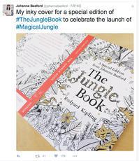 ジョハンナ・バスフォードのオトナの塗り絵新作『ふしぎな王国』イメージビデオ - オトナのぬりえ『ひみつの花園』オフィシャル・ブログ