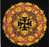 Thank you!! 彩色例の投稿 『海の楽園』by Zen2さん - オトナのぬりえ『ひみつの花園』オフィシャル・ブログ