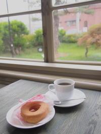 コーヒードーナツ&ブラジル:弘大カフェ(弘前市) - 津軽ジェンヌのcafe日記