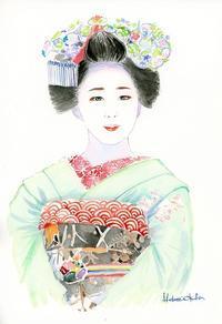 宮川町の舞妓はん2016-5 - 風と雲