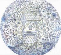 Thank you!! 彩色例の投稿 『ひみつの花園』by るるさん - オトナのぬりえ『ひみつの花園』オフィシャル・ブログ