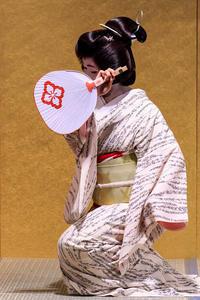 京の七夕・京舞披露(上七軒・市桃さん、梅ちえさん) - 花景色-K.W.C. PhotoBlog