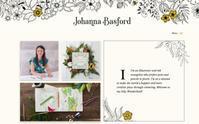 『ひみつの花園』ジョハンナ・バスフォードのオフィシャルHPが新しくなりました! - オトナのぬりえ『ひみつの花園』オフィシャル・ブログ