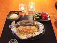 鮭と玉ねぎの味噌バターホイル焼き - まほろば日記
