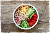 今年最後の冷やし中華弁当 - ranmama-kitchen**