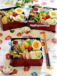 焼き鮭弁当と角食パン♪ - ☆Happy time☆