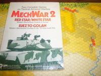YSGA8月例会の様子その2〔現代戦ガチ勢三人衆...(SPI)Mech War2:Red Star/White Star メック・ウォーⅡその➀〕 - YSGA(横浜シミュレーションゲーム協会) 例会報告