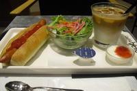 caffe bene(カフェベネ) 『ホットドッグセット』 - My favorite things