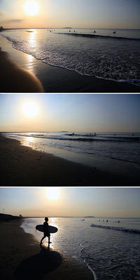 2016/09/02(FRI) 今朝は穏やかな海辺です。 - SURF RESEARCH