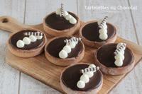 大好きなチョコのお菓子、タルトレット ショコラ - Tortelicious Cake Salon
