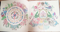 Thank you!! 彩色例の投稿 『ねむれる森』by ふうこさん - オトナのぬりえ『ひみつの花園』オフィシャル・ブログ