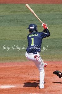 由規4回持たず5失点★1ー6、山田30盗塁&完封阻止の34号ソロ - Out of focus ~Baseballフォトブログ~