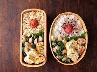 9/8(木)鶏とピーマンの塩ダレ炒め弁当 - おひとりさまの食卓plus