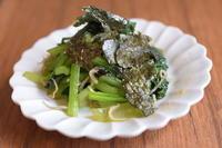 小松菜炒め - 小皿ひとさら