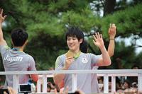 リオ体操男子4人の凱旋パレ-ドが行われました\(^o^)/ - 自然のキャンバス
