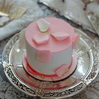 アンティークシルバーの銀器とお花⑧~フレンチシルバーのケーキスタンド♪ - アンティークな小物たち ~My Precious Antiques~