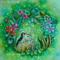 ジョハンナ主催の『ふしぎな王国』塗り絵コンテスト! - オトナのぬりえ『ひみつの花園』オフィシャル・ブログ