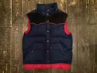 80's Levi's down feather vest - BUTTON UP clothing