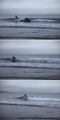 2016/09/14(WED) 秋雨前線の影響かなぁ〜弱いウネリあります。 - SURF RESEARCH