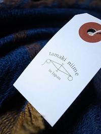 玉木新雌 roots shawl wool×cotton big - 【Tapir Diary】神戸のセレクトショップ『タピア』のブログです