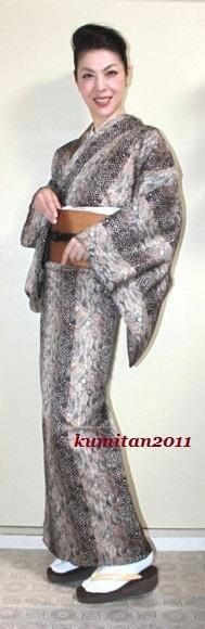今日の着物コーディネート♪(2016.9.15)~単衣着物&紬帯編~ - 着物、ときどきチロ美&チャ美。。。リサイクル着物ハタノシイナ♪