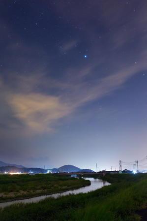遠賀川の上流で - スター・リフレクションズ
