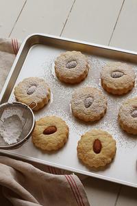 アーモンドクッキー - Nasukon Pantry