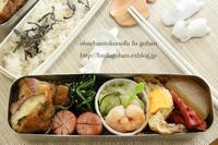 野菜弁当&今日の朝御飯 - おばちゃんとこのフーフー(夫婦)ごはん