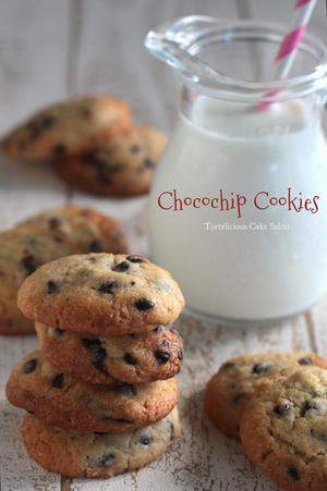 おやつの定番、チョコチップクッキー! - Tortelicious Cake Salon