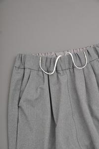 NO CONTROL AIR P/C Melange Tricot Sarueru Easy Pants (Grey Top) - un.regard.moderne