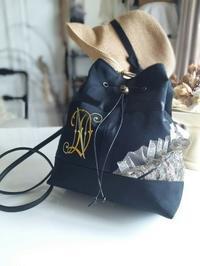 アンティークモノグラム刺繍 - Petit Lace