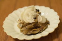 舞茸バター焼き - 小皿ひとさら