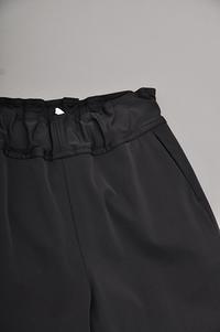 FIRMUM P/C Ratine Jogger Pants (Black) - un.regard.moderne