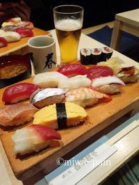 ぶっちぎり寿司からの〜ヴィロってポタる! - パンある日記(仮)@この世にパンがある限り。