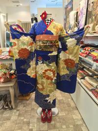 雲×牡丹柄の振袖コーディネート♫ - Tokyo135° sannomiya