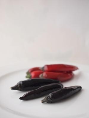 紫トウガラシ - 香港スープの日々@Tokyo