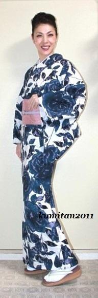 今日の着物コーディネート♪(2016.9.7)~セオα浴衣&大島紬帯編~ - 着物、ときどきチロ美&チャ美。。。リサイクル着物ハタノシイナ♪