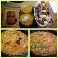 今週の外食と家食 - ビタミンカラー EN VALENCIA