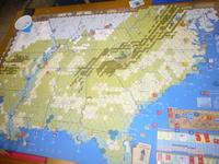 YSGA2016秋の連続例会の様子その6(GMT)The U.S. Civil Warキャンペーンゲーム - YSGA(横浜シミュレーションゲーム協会) 例会報告