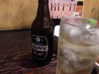 大雨には酒飲みで対抗 - 実録!夜の放し飼い (横浜酒処系)