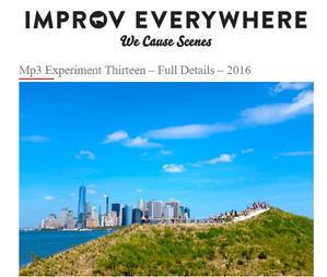 速報、街角即興集団パフォーマンスのImprov Everywhereに参加できます! - ニューヨークの遊び方
