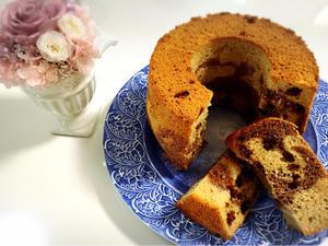 2種のシフォンケーキをアンコールレッスンします - trait d'union  手作りの美味しさと楽しさを