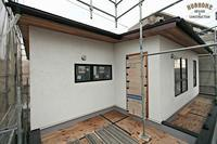 New Nosta / 外壁は100%自然素材のマグマの力 - □□■■■ Hughome blog ■■■□□   「 自然素材に囲まれた暮らしを楽しむ家づくり。」