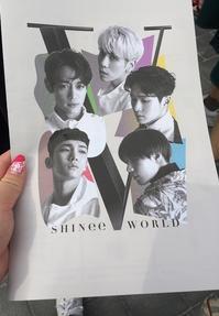 2016年9月 晩夏のソウル vol.2 ~SHINee World Ⅴ セトリ&レポ - 晴れた朝には 改