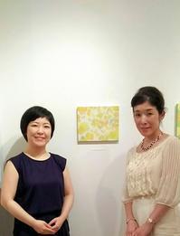 伊藤香奈さんの作品展へ♪ - お茶をどうぞ♪