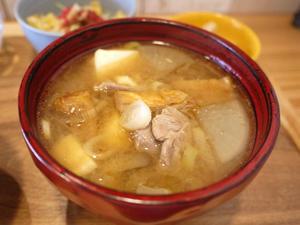 豚汁定食 【二宮 元気が出るご飯。 山田食堂】 - ぶらり湘南