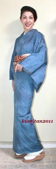 今日の着物コーディネート♪(2016.9.21)~紬着物&染名古屋帯編~ - 着物、ときどきチロ美&チャ美。。。リサイクル着物ハタノシイナ♪
