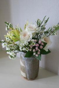 陶芸の花器に - Wanderlust