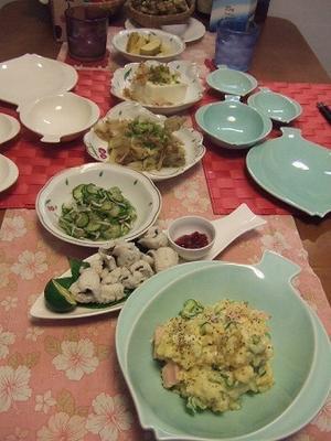 美月家の休日の夕食、呑みメニューで(^^♪ - 日常&インスト覚え書き